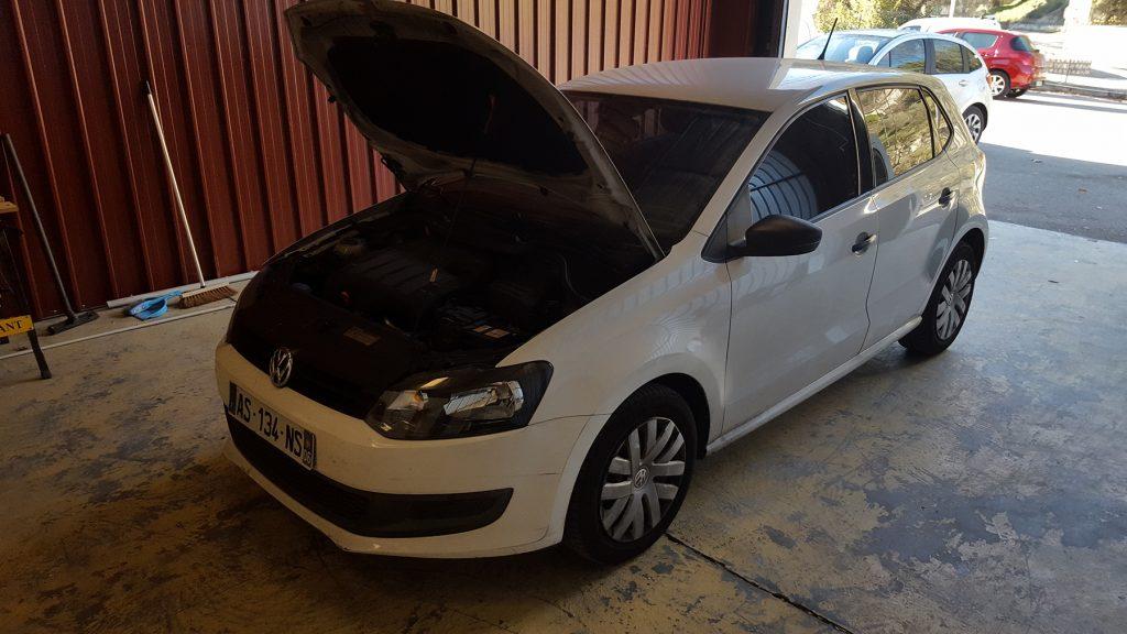 reprogrammation Polo Volkswagen par le programmateur moteur SAE Performance dans le Var